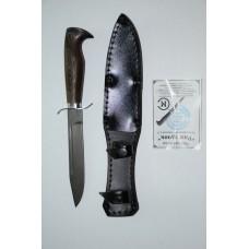 Нож Разведчик (кован. ст. Х12МФ, венге)