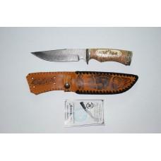 Нож Легионер (дам. ст. береста, литье, кость)