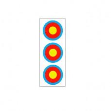 Мишень FITA 3x20см Vertical