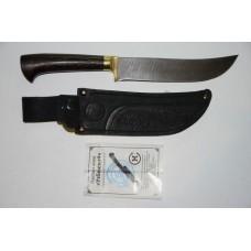 Нож Узбекский (дам. ст, венге, литье)