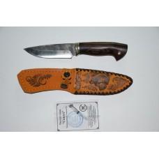 Нож Сокол (кован ст. 95Х18, со следами ковки, венге, литье)