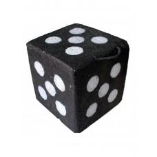 Щит куб черный (30х30х30см)