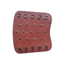 Крага на шнуровке с клепками №3 (кожа)