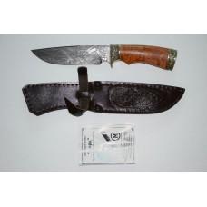 Нож Лорд (дам. ст., литье, стабил. карельская береза)