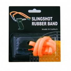 Резинка для рогатки оранж