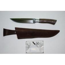 Нож Тигр (кован. ст. Х12МФ, орех)