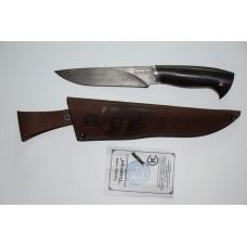 Нож Пантера (кован. ст. ХВ5. литье, ценные породы дерева)