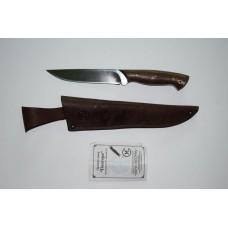Нож Пантера (кован. ст. Х12МФ, орех)